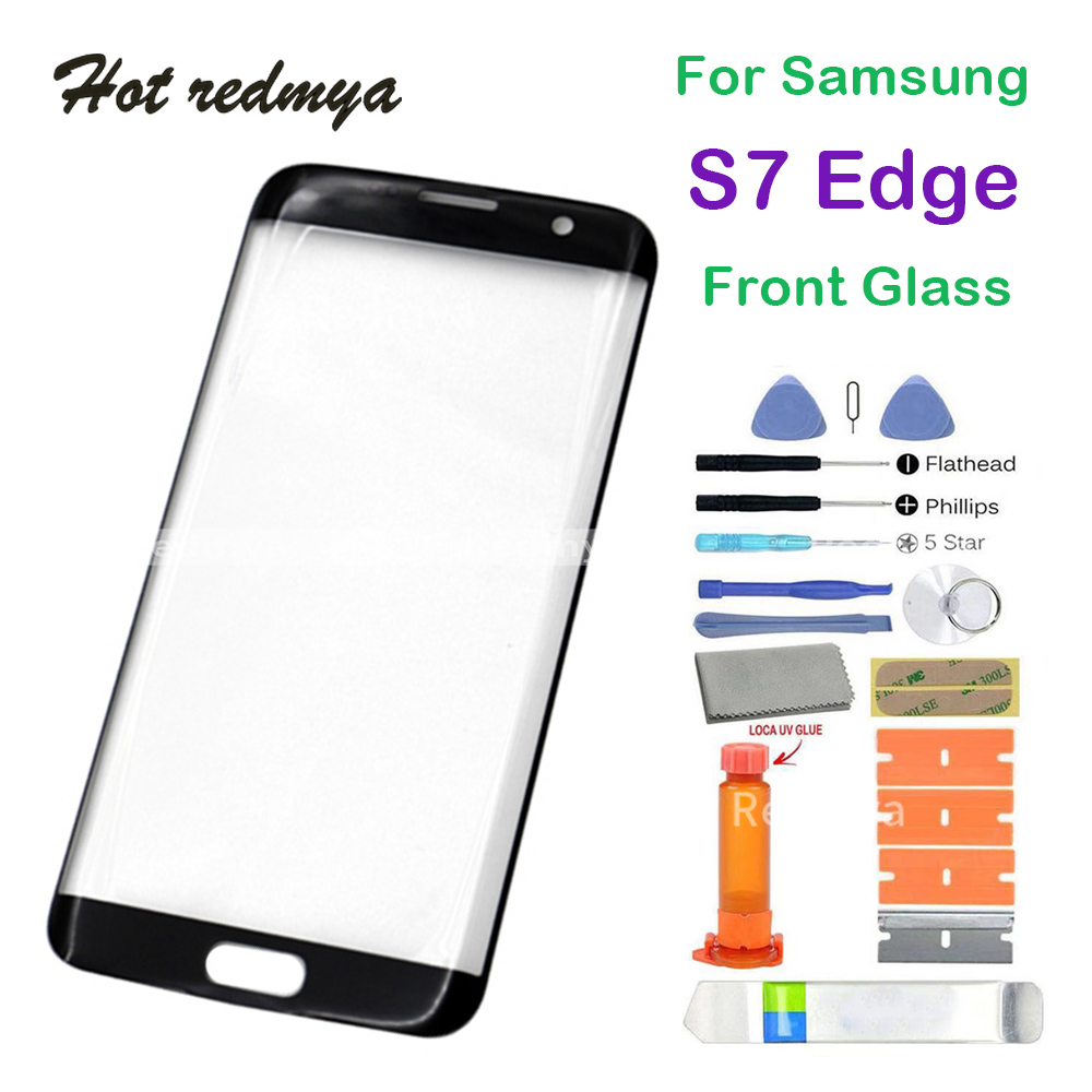 Front Glass Touch Screen Replacement For Samsung Galaxy S7 Edge G935 LCD Front Outer Glass Lens With Set ToolFront Glass Touch Screen Replacement For Samsung Galaxy S7 Edge G935 LCD Front Outer Glass Lens With Set Tool