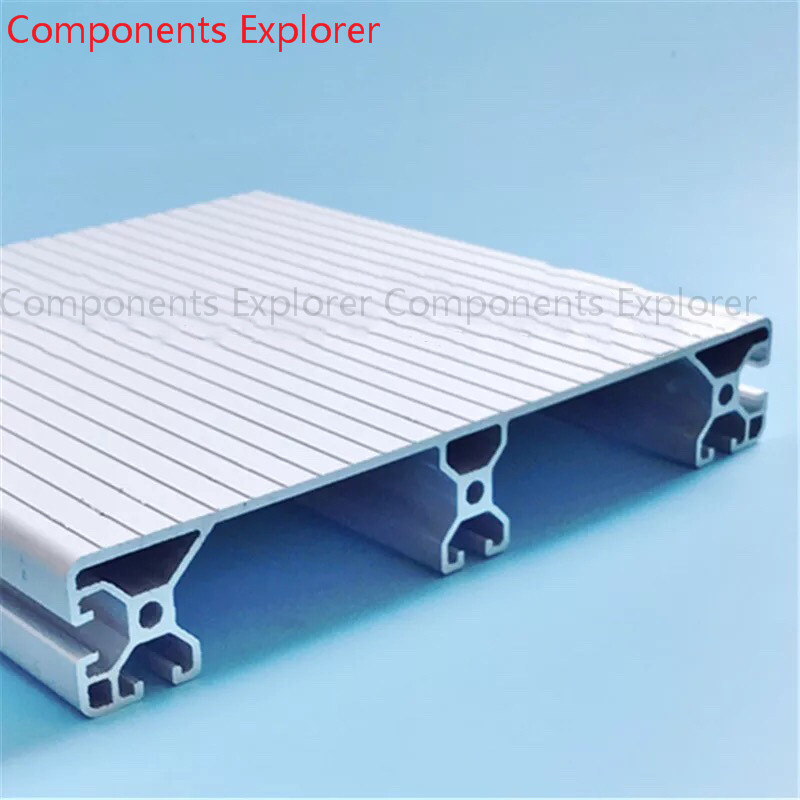 Arbitrary Cutting 1000mm 40240 Aluminum Extrusion Profile,Silvery Color For Stairs