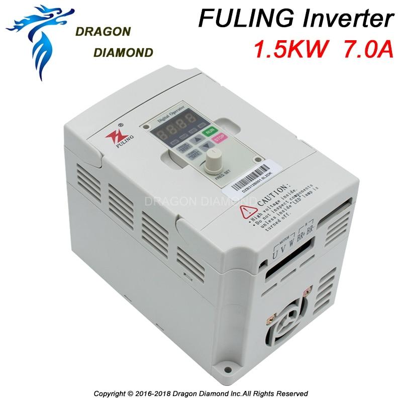 FULING VFD 1.5KW Nuevo inversor CNC Control de velocidad del motor - Piezas para maquinas de carpinteria - foto 3