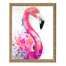 Diy Diamond Painting Cross Stitch Mosaic Flamingos Resin 5D Embroidery Home Decor Full Square Pattern