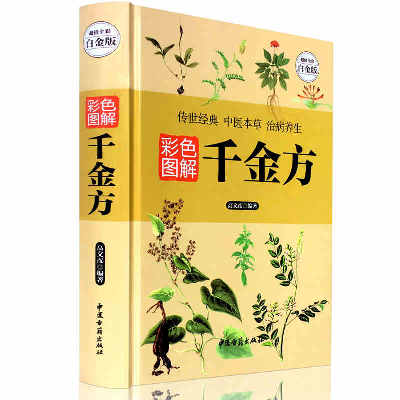 Qian Jin Fang : Chinese Book With Picture The Health Preservation Of TCM Thousand Pieces Of Gold Formulae Libros
