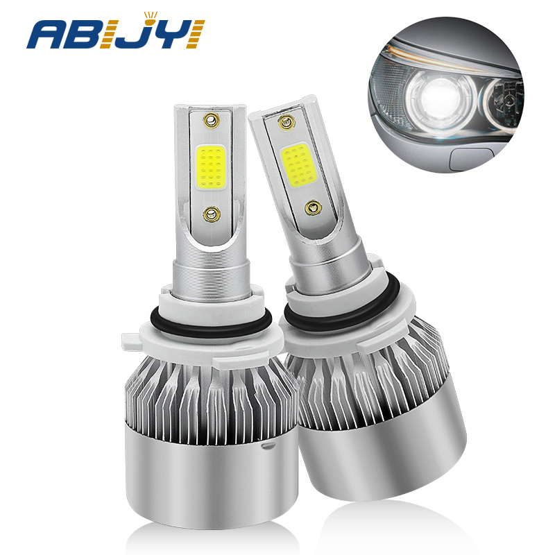 2x 36W <font><b>Led</b></font> Car <font><b>Headlight</b></font> H7 <font><b>LED</b></font> H4 HB2 H1 H3 H8 H11 Bulb 6000K White HB3 9005 HB4 9006 Light Bulb 72W 7600lm Auto Lamp Fog Light image