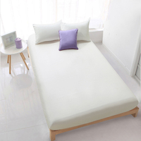 New 180*200cm Cotton Solid Color Mattress Cover with Elastic Mattress Protector Bed Anti Bacteria Mattress Pad Cover for Gift