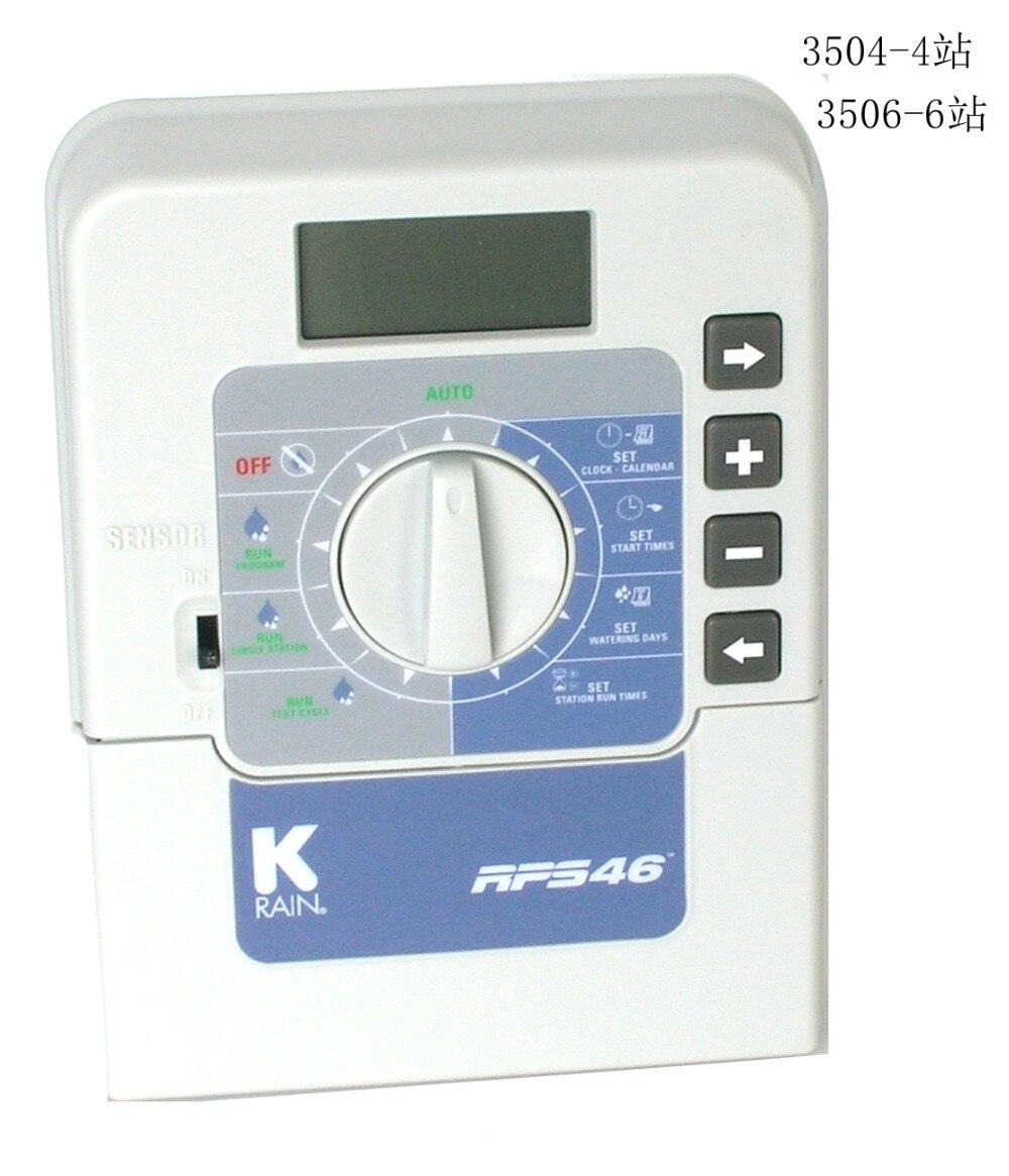 K-rain 3506-220-6 Station 220 volts RPS 46 Mini contrôleur avec transformateur externe pour systèmes d'arrosage et d'irrigation.