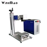 Smart Portable Fiber Laser Marking Machine For Metal Fiber Laser Engraving Machine 20w