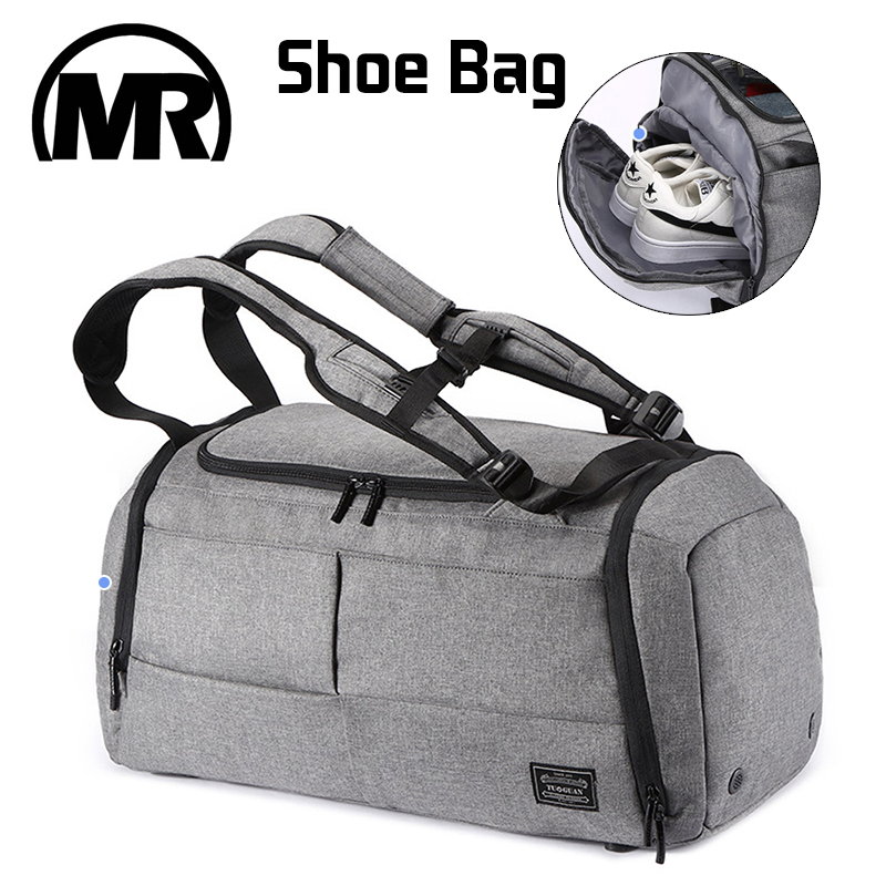 MARKROYAL Multifunctional Travel Bag Organizer Trolley Duffle bag Carry on luggage Weekend Bag For Men large