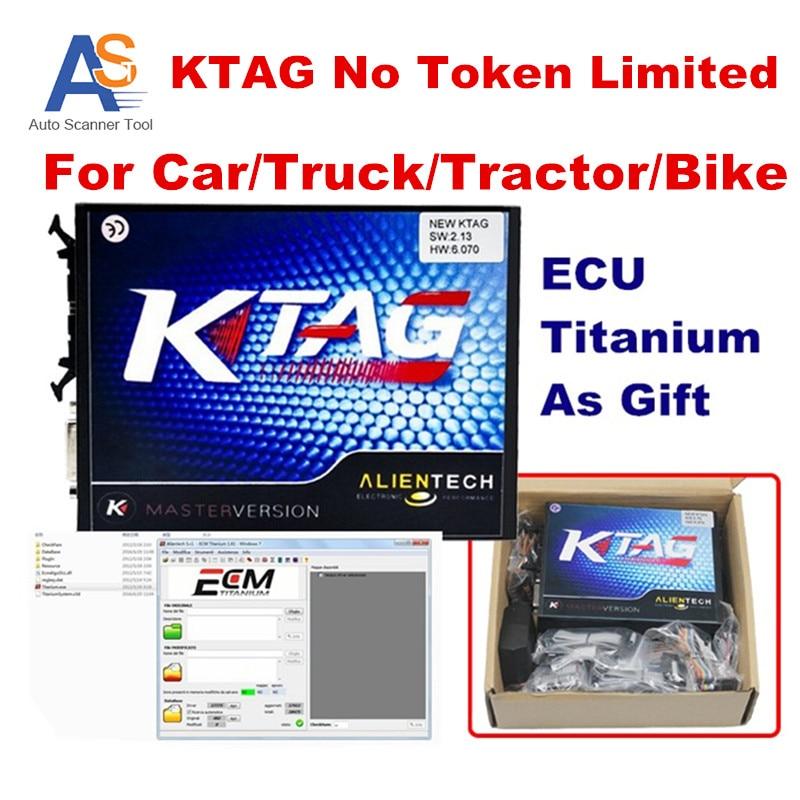 2016 Fast Shipping K TAG V2 13 Version K TAG Master ECU Programmer font b Tool
