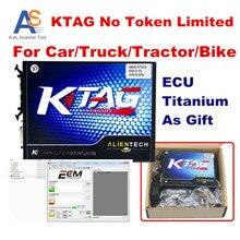 2016 Envío Rápido V2.13 Versión K-TAG K TAG Master V6.070 Ktag K-TAG ECU Programador Herramienta de Hardware