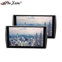WHEXUNE ультра тонкий 11,6 дюймов 1336*768 Высокое разрешение дисплей MP5 Автомобильный подголовник монитор USB поддержка плеер HDMI TFT ЖК экран