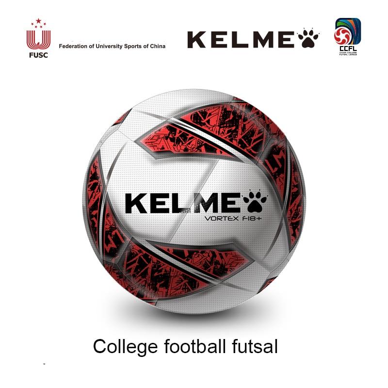 a7573daad KELME PU Soccer Ball Football Futsal Ball Official Size 4 Football Goal  League Ball Outdoor Sport