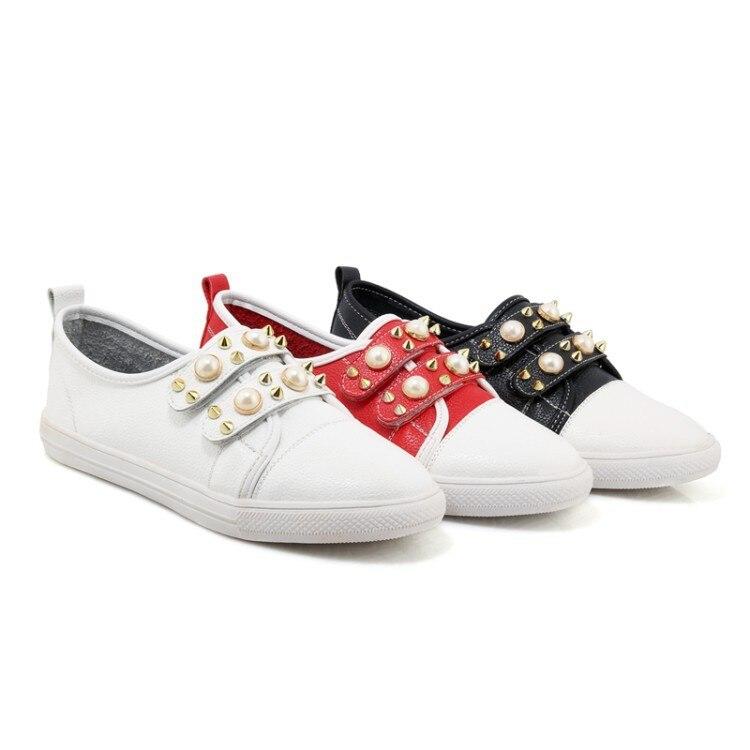 Grande 33 Femmes Grand Blanches rouge 2018 Noir Printemps Fond Petit Taille De 1229 29 Enfants Petite blanc Code Nouveau 46 Chaussures 40 87wgxqE0