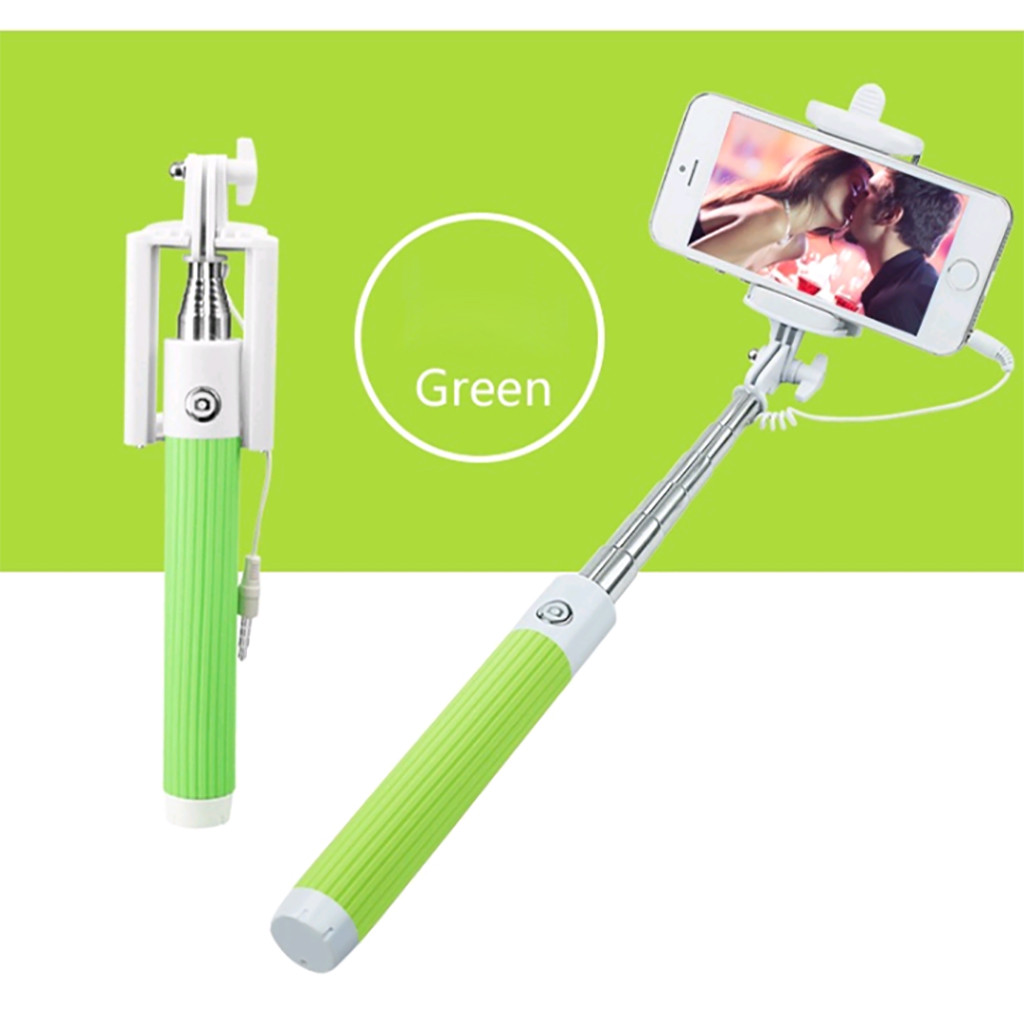 Monopod Extendable Tripod Stick-Support Self-Pole Mini Android-System Lightweight Handheld