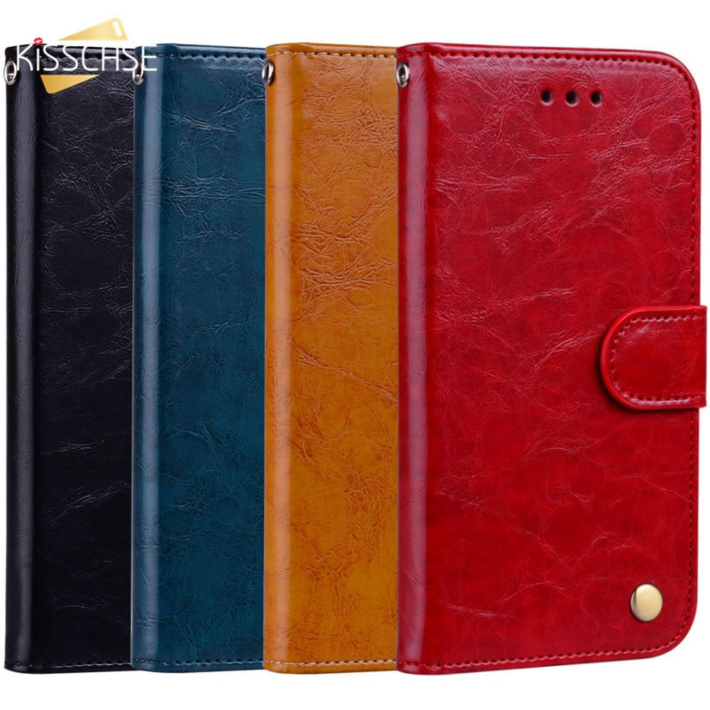 KISSCASE vintage Leder Telefon Fall Für <font><b>iPhone</b></font> 6 6 s 6 s Plus 7 7 s 5 5 s SE fall Für <font><b>iPhone</b></font> 7 Plus 8 Plus X XS XR XS MAX image