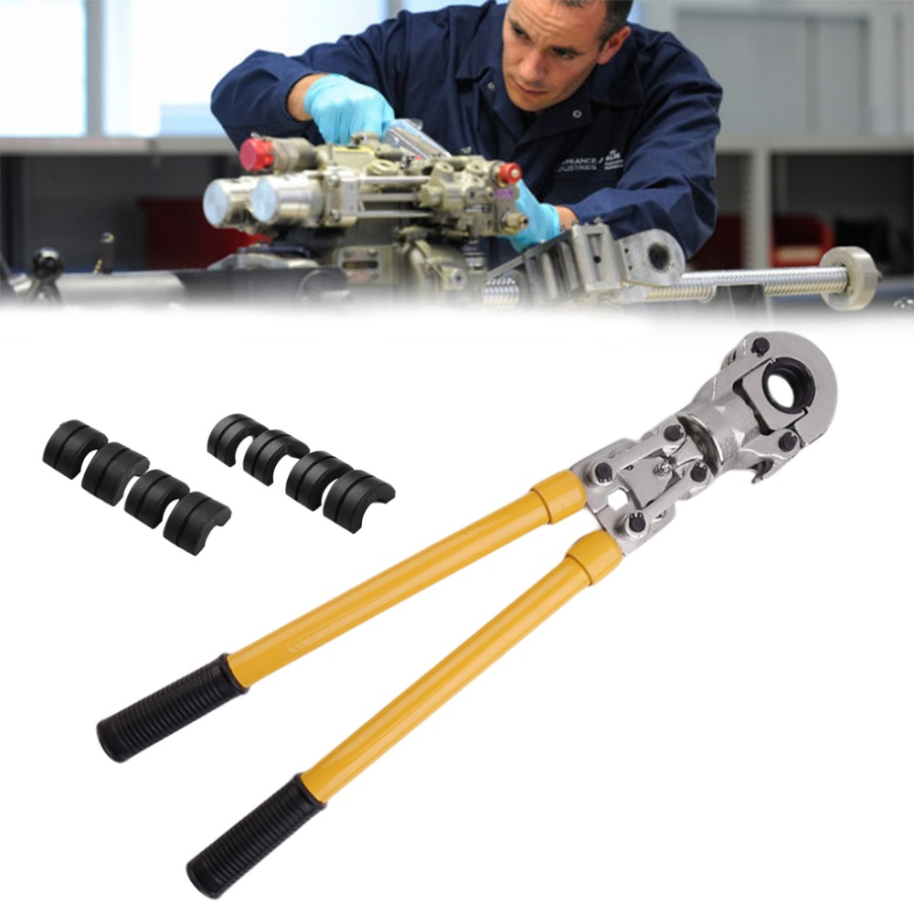 Hydraulic Fitting Tool JT-1632 For PEX Pipe Pressing Tools PB Pipe Crimping Copper Aluminum Connecting With TH Type for Car pex hydraulic tools cw 1632 with telescopic handle 360 degrees head