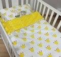 Promoção! 3 PCS jogo de cama de bebé berço berço cama Set cunas berço set, Incluem ( capa de edredão / folha / fronha )