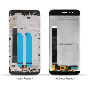 Image 3 - For Xiaomi Mi A1 LCD Display + Frame 10 Touch Screen For Xiaomi Mi 5X LCD Digitizer TouchScreen Panel Replacement Spare Parts