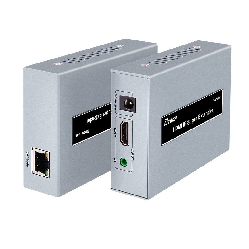 Hdmi Extender 120 m cable extension POE power supply hdmi transfer cable transmitter signal amplifier 60 meters ce link 2020 hdmi repeater signal amplifier extender line driver 40 meters