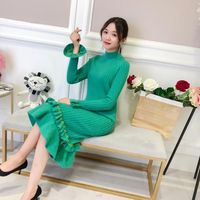of 2018 autumn winters is female Cultivate morality show thin horn sleeve lady inside take render unlined upper garment