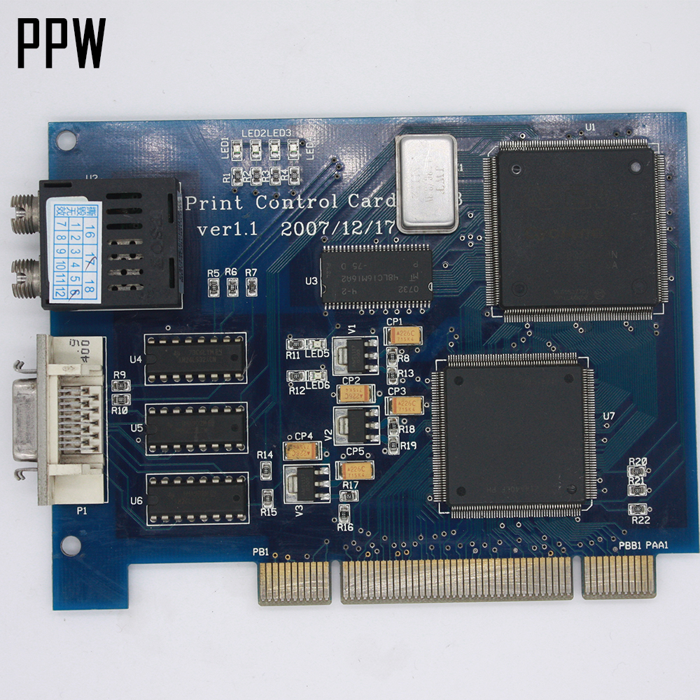 Infiniti FY 3206 Printer print control PCI Card original used desktop motherboard for colorful c h61hd v20 support lga 1155 2 ddr3 support 16g 4 sata2 mini itx