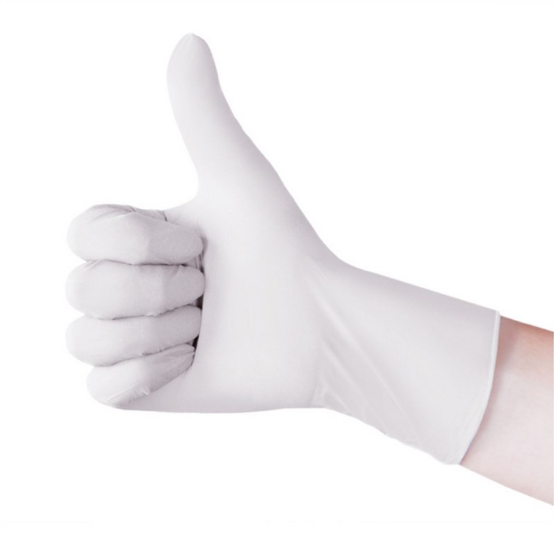 10pcs/Pack Extra Strong Latex Glove Medical Dentist White Disposable Gloves Elastic Electronics, Food, Medical, Laboratory
