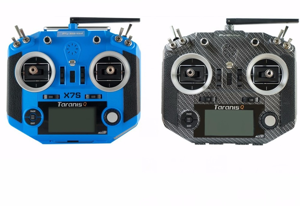 In store Frsky 2.4G 16CH ACCST Taranis Q X7S Transmitter TX Mode 2 M7 Gimbal Wireless Trainer Free Link App Bag for RC Models askent s 7 1 tx page 2