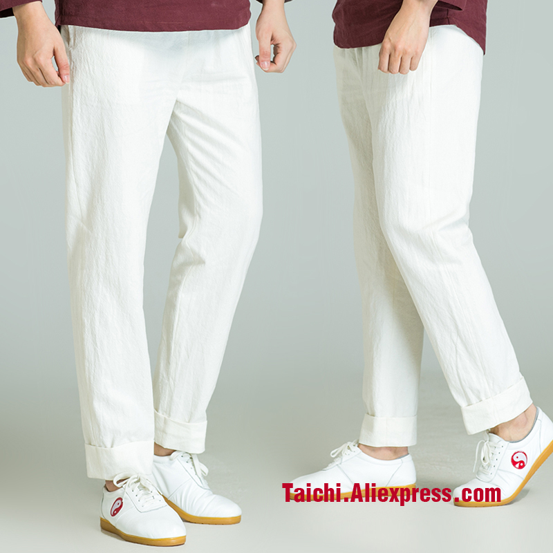 New Tai Chi Pants  Martial Art  Chiese Style Trousers 4 Colors Free Shipping