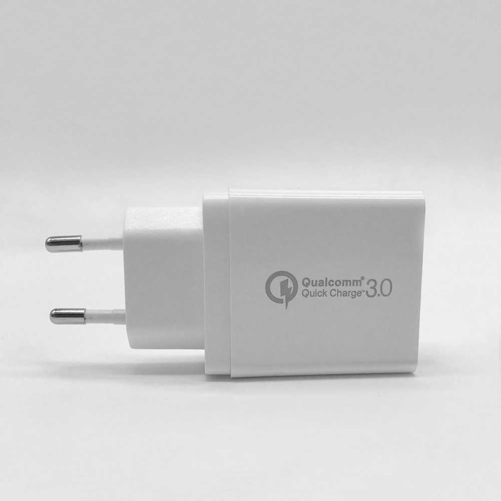 Carga rápida 3,0 USB de 3 puertos QC 3,0 viajes rápido Turbo cargador para iPhone XS MAX 8 6 S Plus samsung S10 + S9 S8 S7 para Xiaomi Mi9