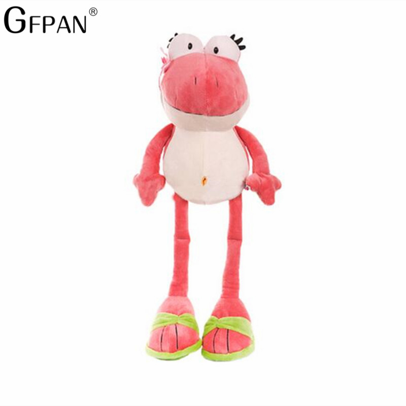 1pcs 50cm  The Frog Prince Lovely Frog 2 Colors Soft Plush Toys Stuffed Animals Children's Birthday Present For Girls Baby