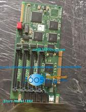 Voice Board D081A-PCI With 4 Modules Outside 8 Way Voice Board