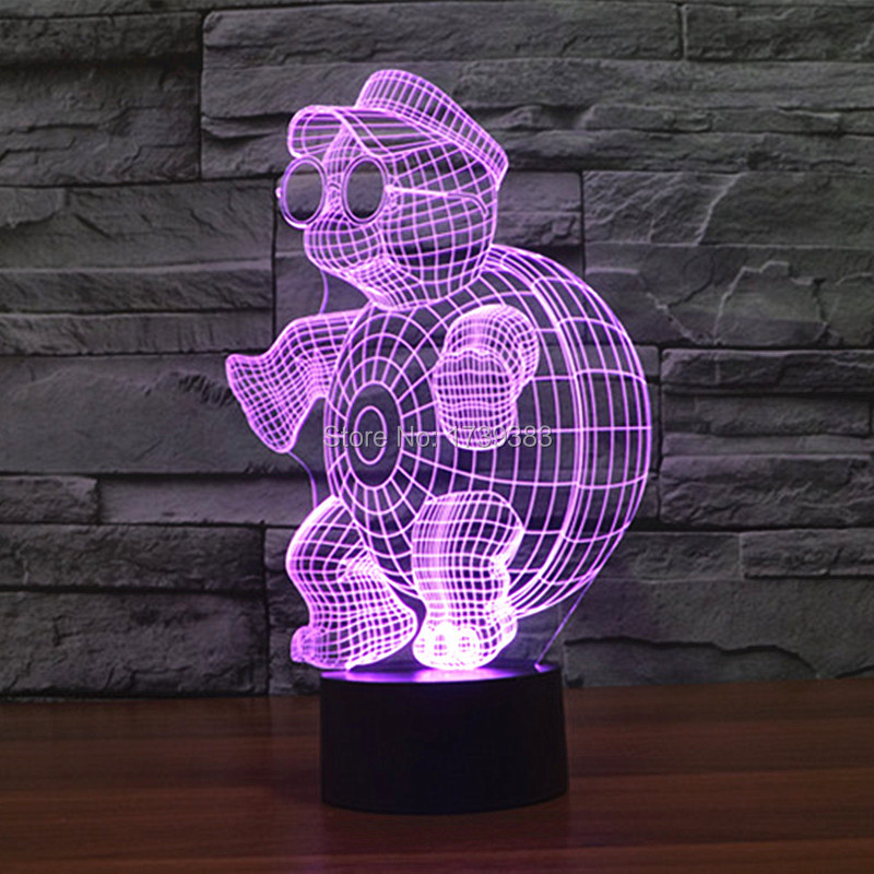 little tortoise 3D Night Light (7)