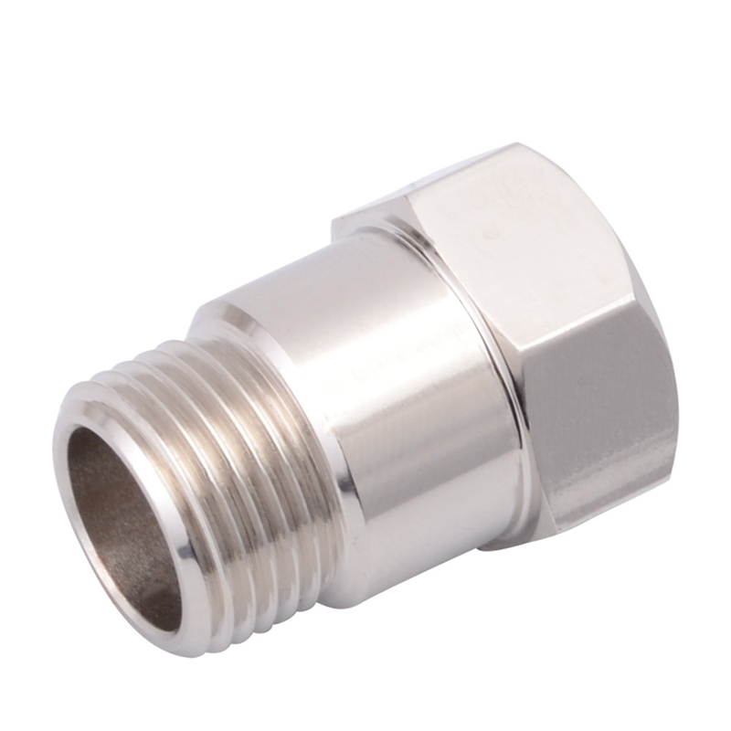 Auto Replacement Parts Citall New Car Auto Silver M18 X 1.5 Hho O2 Oxygen Sensor Extender Adapter Fitting Eliminator Test Pipe Extension Spacer Bung Automobiles Sensors
