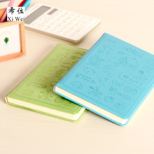 Creative Notebook Stationery Notepad Diary Business Skin Cartoon A5/a6 Student