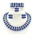Collar de cuentas de color verde de la joyería africana establece joyería africana del oro collar de perlas africanas joyería conjunto africano