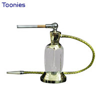 Exquisite Glass Cigarette Holder Strong Filter Dual-use Mini Metal Hookah Bowl High-end Present Tobacco Smoking Pipe 2pcs/set