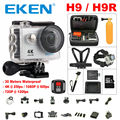 Câmera ação Original eken H9/H9R remoto Ultra HD 4 K Wi-fi 1080 P/60fps 2.0 LCD DV Sport Câmera ir à prova d' água pro sj