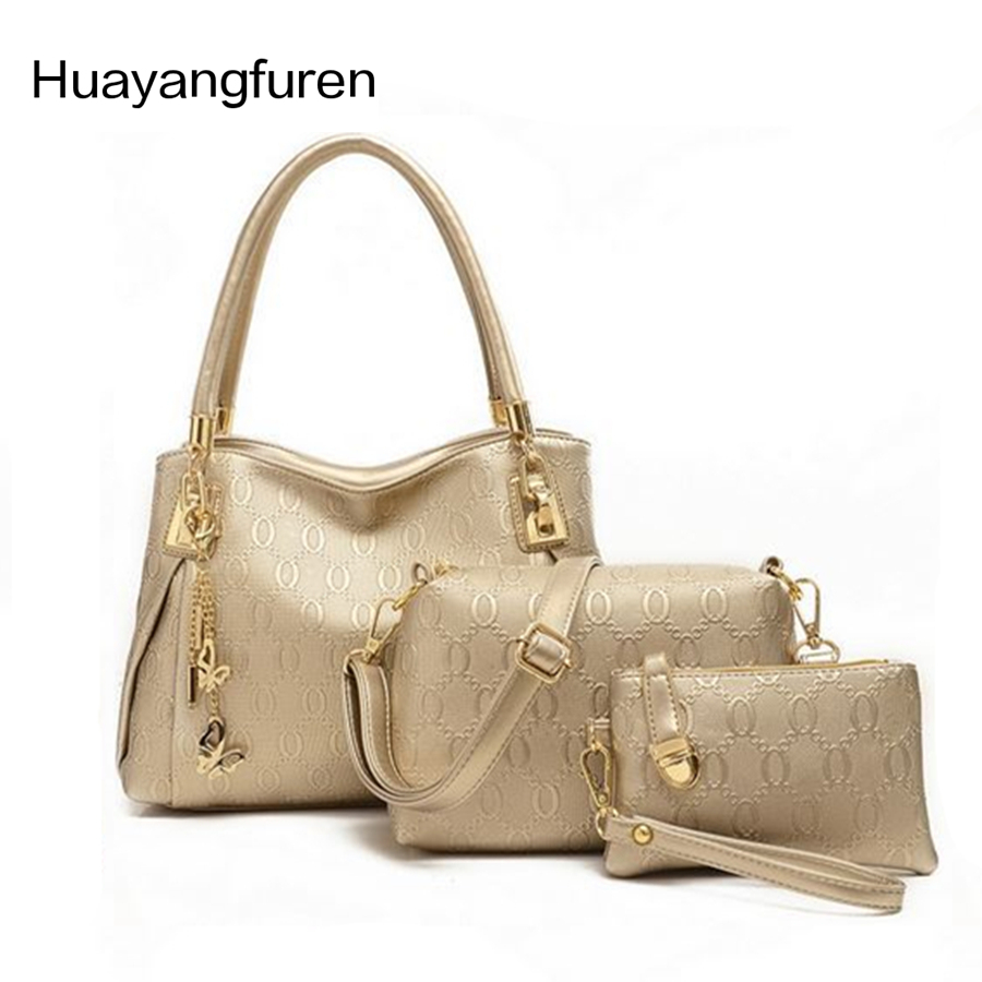 2017 women handbags Patent leather handbag women messenger bags brand designs bag bags Handbag+Messenger Bag+Purse 3 Sets Q3 сумка women handbag women bag 2015 ls3454a women handbag women bag women messenger bags