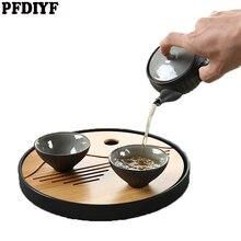 20 CM Tee Lebensmittel Orientalischen Teller Platte Naturbambus Serviertablett Umweltfreundliche Durchmesser Primitive Hand-Made Snack Platten