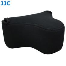 JJC, bolsa de cámara suave sin Espejo, funda impermeable de neopreno pequeña para Sony A6100 A6600 A6500 A6300 A6000 Canon M10 G3 X SX520