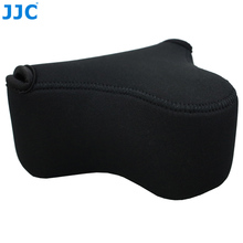 Jjc ソフトミラーレスカメラバッグ小さなネオプレン防水ケースポーチソニー A6100 A6600 A6500 A6300 A6000 キヤノン M10 G3 × SX520