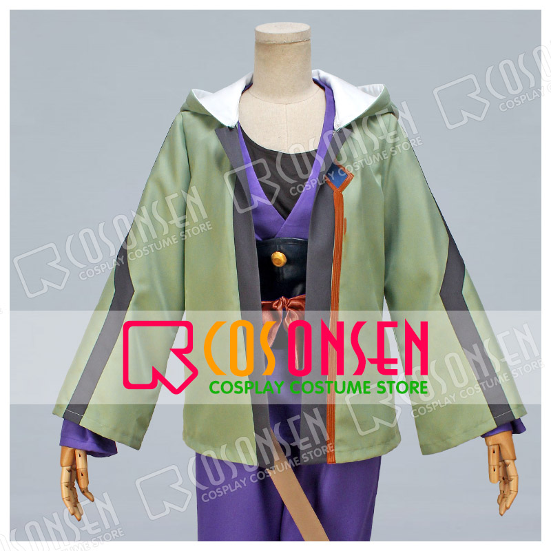 Kabaneri of the Iron Fortress Ikoma Takumi Cosplay costume All Size COSPLAYONSEN