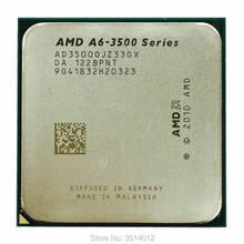 AMD A6-Series AD3500OJZ33GX A6 3500 2.1 GHz Triple-Core Processador CPU Soquete FM1