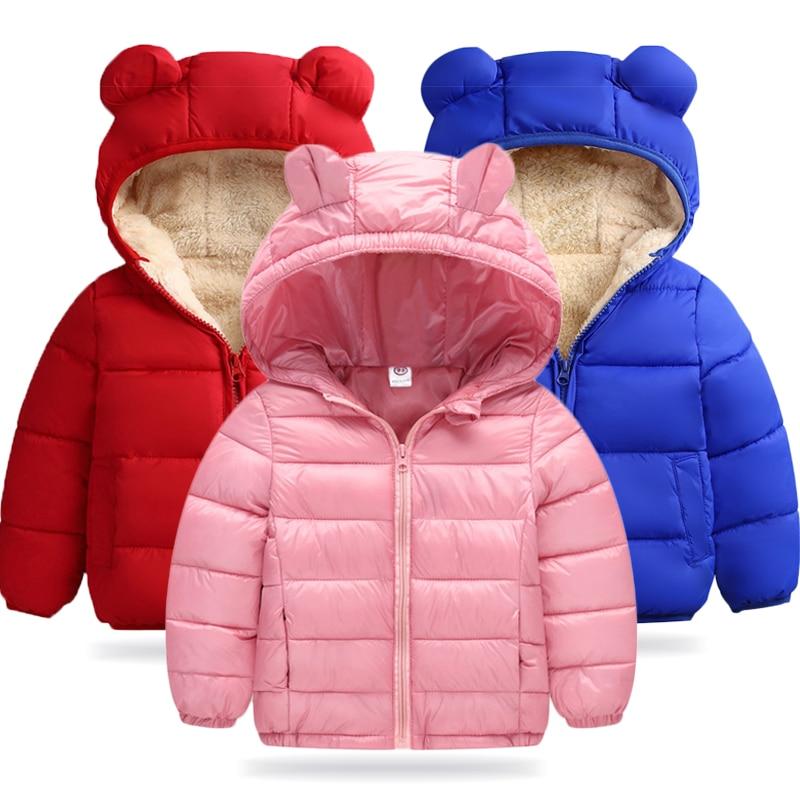 Baby Girls Coat 2019 Autumn Winter Jackets For Girls Windbreaker Kids Warm Outerwear Coats For Girls Clothes Children Jacket