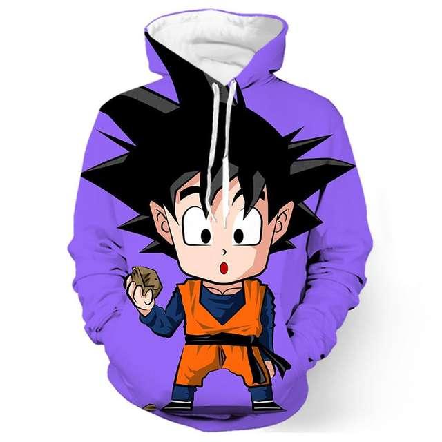 Kid Goku 3D Hoodies