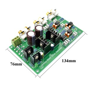 Image 3 - Lusya NE5532 調整することができ 2 範囲 2 ウェイスピーカーアクティブ周波数分周器クロスオーバー Linkwitz ライリー回路 DSP A8 014