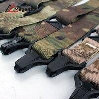 Magaipu הסוואה סיטונאי שתי נקודות staps Multi Mission טקטי רובה קלע עבור AR15 airsoft