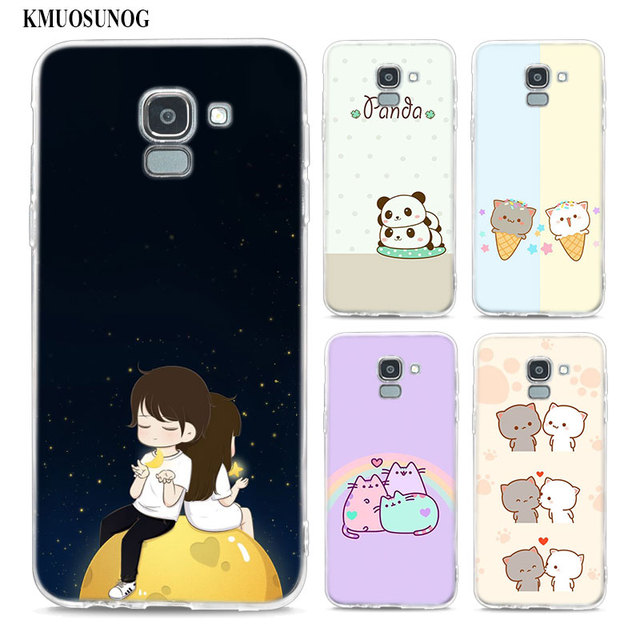 Transparent Soft Silicone Phone Case Cute Wallpaper For Samsung