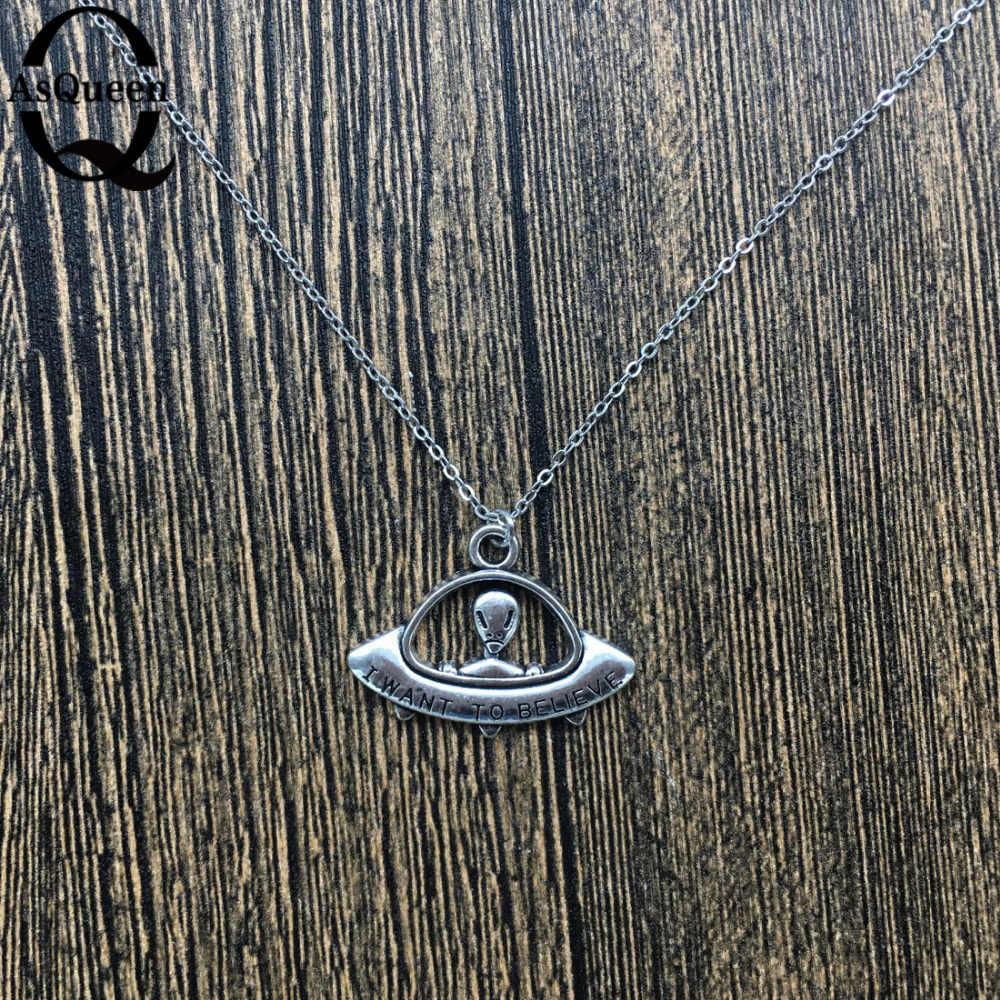 ใหม่แฟชั่นเครื่องประดับ chain link om จี้ช้าง ufo moon ปลามือ anchor star สร้อยคอผสมออกแบบสำหรับสตรีสาว nice ของขวัญ