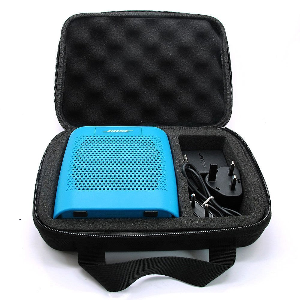 Industrious Carrying Case For Bose Soundlink Color Bluetooth Speaker Ii Color 2 (2nd Generation)- Extra Room For Usb Cable And Wall Charger