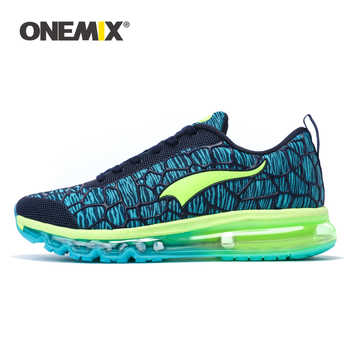 Onemix 2018 Damping Mens Running Shoes Breathable Outdoor Walking Sport Shoes New Mens Athletic Sport Sneakers size 39-46 - DISCOUNT ITEM  43% OFF Sports & Entertainment