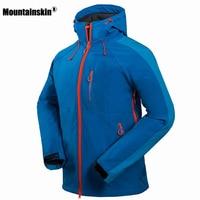 2016 Men S Hiking Jackets Softshell Jacket Men Outdoor Autumn Winter Sports Coats Waterproof Windproof Camping